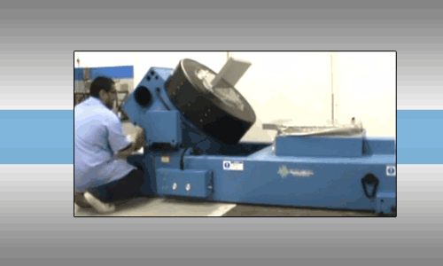 Electrodynamic Shaker Rotation