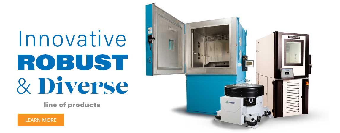 Environmental & Vibration Testing Equipment Manufacturer